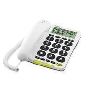 Doro dect telefoon PhoneEasy 312CS wit