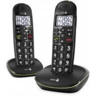 Doro dect telefoon PhoneEasy 110 Duo zwart