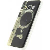 TPU Case Samsung Galaxy A3 Retro Camera -