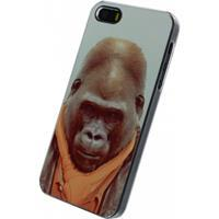 Metal Plate Cover Apple iPhone 5/5S/SE Funny Gorilla -
