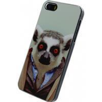Metal Plate Cover Apple iPhone 5/5S/SE Funny Lemur -