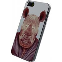 Metal Plate Cover Apple iPhone 5/5S/SE Funny Rhino -