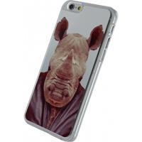 Metal Plate Cover Apple iPhone 6/6S Funny Rhino -