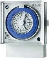 Tijdschakelklok Finder 12.31.8.230.0007 230 V / 50-60 Hz 1 wisselcontact 16 A 250 V/AC (AC1) 4000 VA