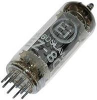 Buis (elektronenbuis) EZ 80 = 6 V 4 Aantal polen 9 Fitting Noval Beschrijving: Duale gelijkrichter