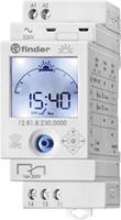 Finder 12.81.8.230.0000 Elektronische tijdschakelklok met NFC en Astro-functie 1 wisselcontact 16 A 250 V/AC