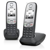 Gigaset A415 DUO, Black / Silver