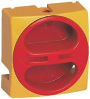BACO BA172601 Keuzeschakelaar Draaischakelaar Uitschakelbaar Geel, Rood 1 stuks