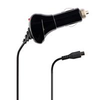 Azuri oplader Autolader Micro USB zwart