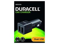 Twin 2v CarCharger USB - Duracell
