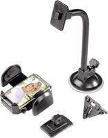 Hama 3-in-1 universele multihouder - geschikt voor MP3-spelers/mobiele telefoons/GPS