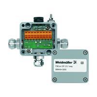 Passieve sensor/actorbox Profibus-DP standaardverdeler met bus aansluiting FBCON DP CG 1WAY 8564340000 Weidmüllerler 1 stuks