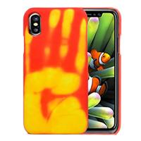 Voor iPhone 8 Thermal Sensor Discoloration beschermings Back Cover hoesje,Small Quantity Recommended Bevoore iPhone 8 Launching(Oranje)