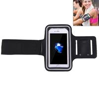 For iPhone 8 Plus & 7 Plus Sport Armband Case with Key Pocket(Black)