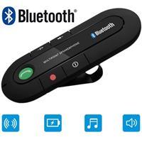 Draagbare Bluetooth Carkit - Sunvisor Mount - Zwart