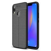 Slim-Fit Premium Huawei P Smart+ TPU Case - Zwart