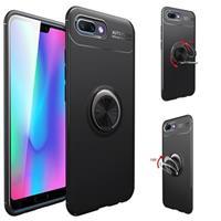 Huawei Honor 10 Magneet Ringgrip Cover - Zwart