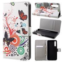 Style Series Huawei P20 Pro Wallet Case - Vlinders / Cirkels