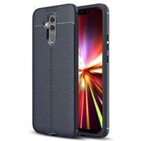 Slim-Fit Premium Huawei Mate 20 Lite TPU Case - Donkerblauw