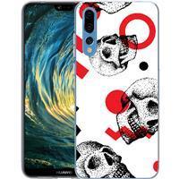 Huawei P20 Pro TPU Hoesje Skulls