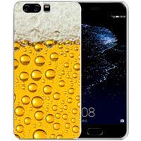 Uniek TPU Hoesje Bier Huawei P10 Plus