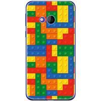 HTC U Play Uniek TPU Hoesje Blokken