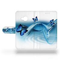 HTC U Play Uniek Design Hoesje Vlinders