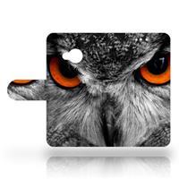 HTC U Play Uniek Design Hoesje Uil
