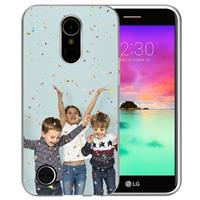 LG K10 2017 TPU Hoesje Maken met Foto's