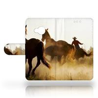 HTC U Play Uniek Design Hoesje Cowboy