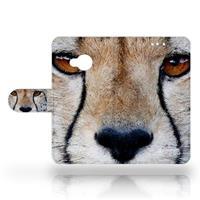 HTC U Play Uniek Design Hoesje Cheetah