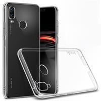 Huawei P Smart Plus TPU Hoesje Transparant + Screen Protector