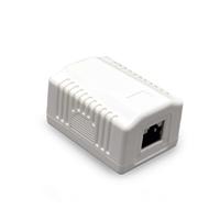 CAT5E FTP LAN-opbouwdoos, 1-poorts