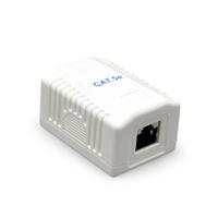 CAT5E UTP LAN-opbouwdoos, 1-poorts
