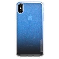 Pure Shimmer iPhone Xs Max Blauw