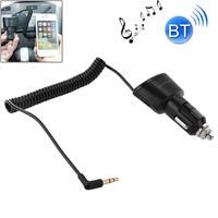 Apple Auto lader Bluetooth 3.5mm AUX Audio ontvanger Music Adapter met USB-poort voor iPad / iPhone 5 & 5 C & 5S / iPhone 4 & 4S / Galaxy S IV / S III DC 5V / 2.1a kabel lengte: 30 cm (kan worden uitgebreid