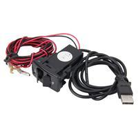 Eén sleuf YCL-302 opladen van de USB-poort van een Slot Audio Special Design DC 12V USB bijladen stopcontact opladen van Smartphones voor Honda