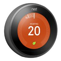 Nest Learning Thermostat slimme thermostaat, zwart
