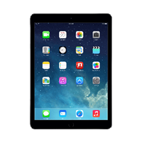 iPad Air Zwart 16GB Wifi only - A grade