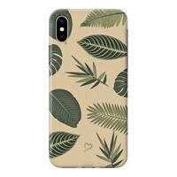 Fashionthings - iPhone Xs Max Hoesje - Back Case Be-Leaf In Yourself