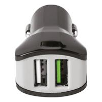 Celly Universele autolader Charger Car 3.4A Turbo USB zwart