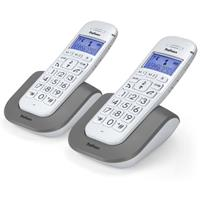 Profoon PDX-2608  Big Button DECT Telefoon DUO White