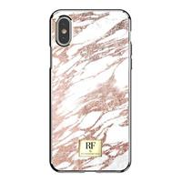 RF Series TPU Case Apple iPhone X Pink Marble/Gold