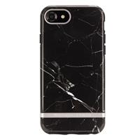 iPhone 8 / 7 / 6s - Black Marble/Silver