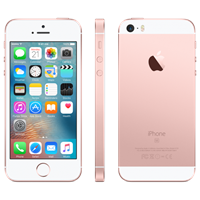 Partly Refurbished iPhone SE 16GB rose goud B-grade