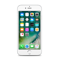 Partly Refurbished iPhone 6S Plus 64GB zilver A-grade