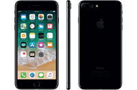 Partly Refurbished Apple iPhone 7 Plus 128GB Gitzwart