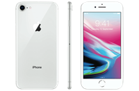 Partly Refurbished Apple iPhone 8 256GB Zilver