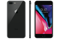 Partly Refurbished iPhone 8 Plus 64GB Space Gray Licht Gebruikt