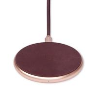 Decoded Qi draadloos laadstation (10W) - Rose/Burgundy